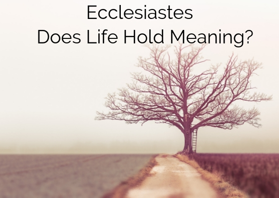 Ecclesiastes - Does Life Hold Meaning?